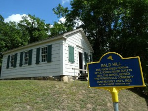One room Bald Hill School House