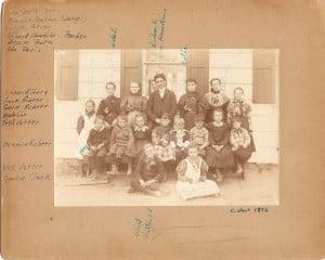 1896 Bald Hills Schoolhouse Class