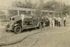 Firetruck from Farmingville Fire Department