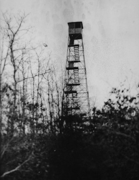 Telescope Hill_fire_tower_1918