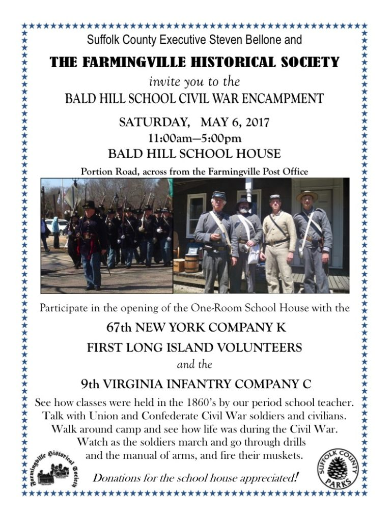 2017 Farmingville Historical Society Civil War Encampment
