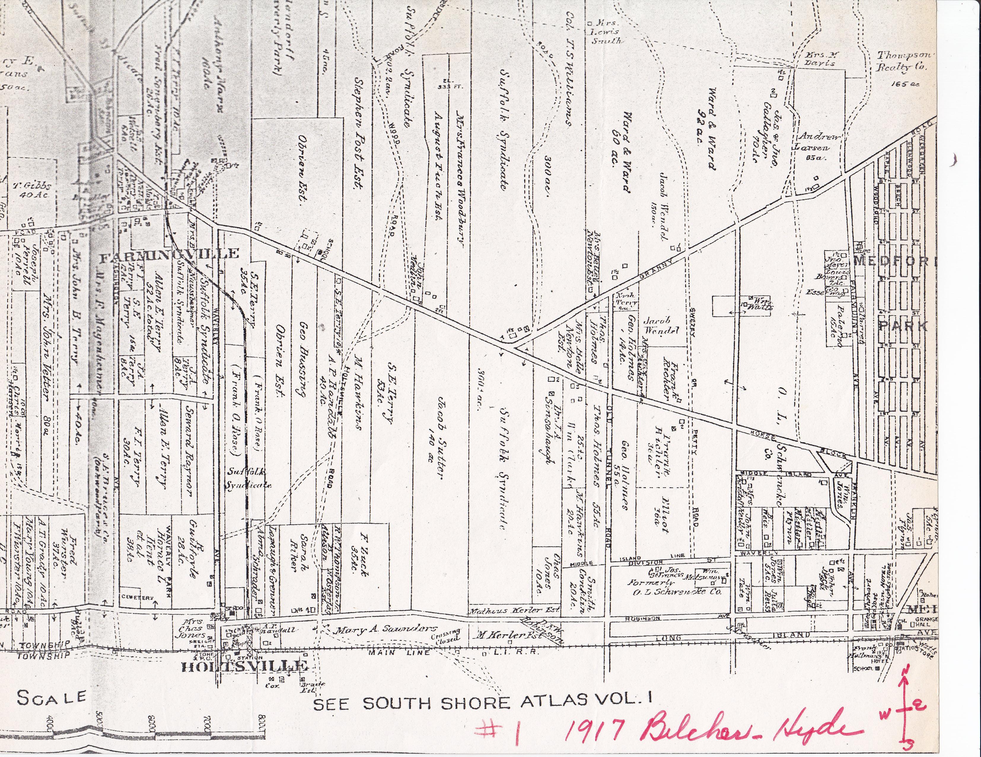 Historic Maps Farmingville Historical Society