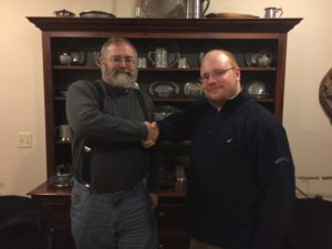 Gene Farmer - Stony Brook History Intern to Farmingville Historical Society