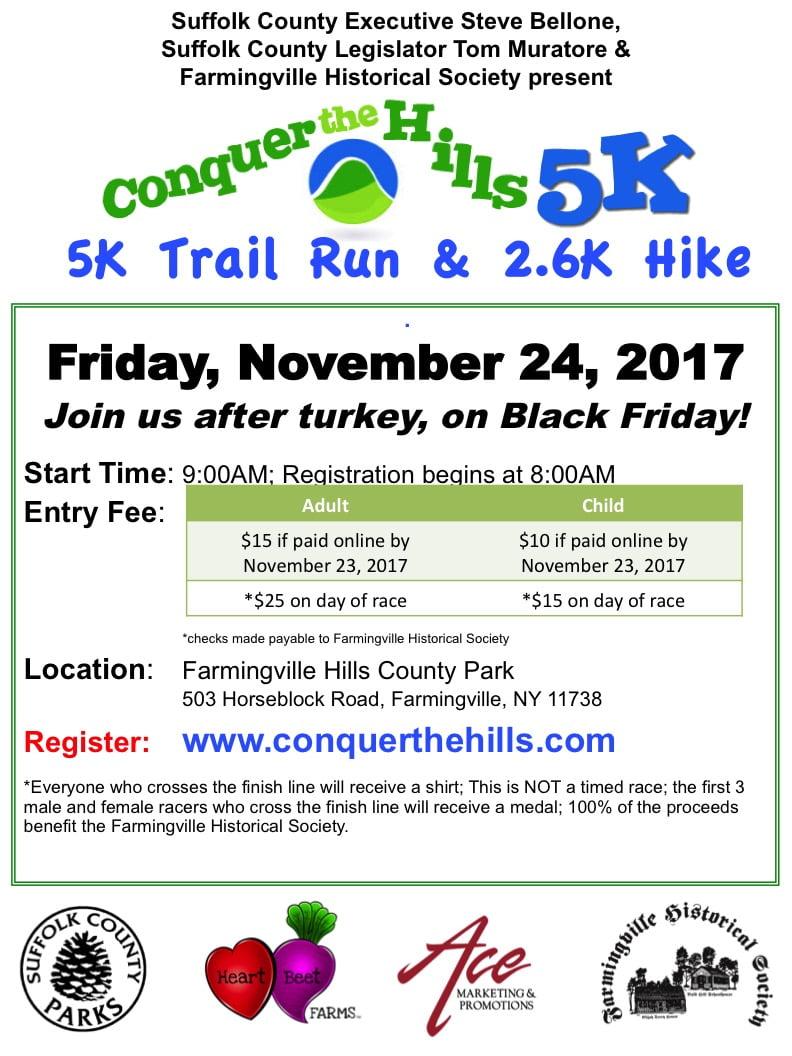 2017 Conquer the Hills 5K Trail Run