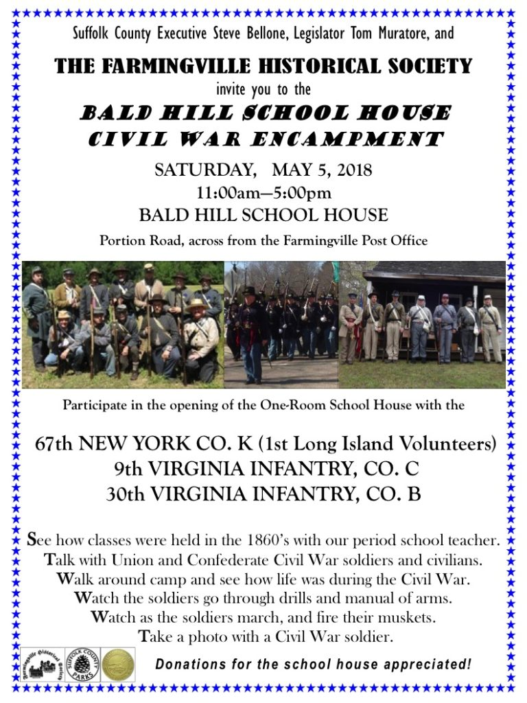 May 5 2018 Bald Hill Civil War Encampment